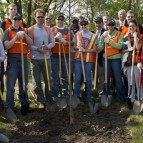Purdue University – Arbor Day Volunteer Planting